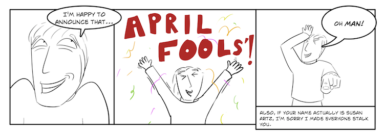 April Fooz!